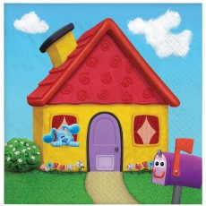 Blue's Clues Party Supplies - Lunch Napkins