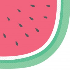 Hawaiian Party Decorations Just Chillin Watermelon Lunch Napkins