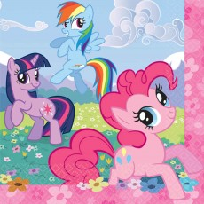 My Little Pony Friendship Lunch Napkins