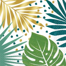 Key West Palm Leaves Lunch Napkins Pack of 16