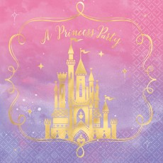 Disney Princess Once Upon A Time A Princess Party Lunch Napkins Pack of 16