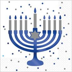 Hanukkah Party Supplies - Lunch Napkins Premium