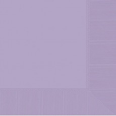 Lavender Party Supplies - Dinner Napkins Lavender