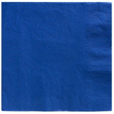 Royal Blue Dinner Napkins 40cm x 40cm Pack of 20