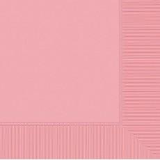 New Pink Dinner Napkins 40cm x 40cm Pack of 20