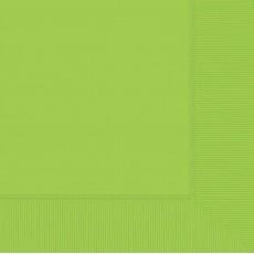 Kiwi Green Dinner Napkins 40cm x 40cm Pack of 20