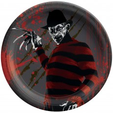 Halloween Nightmare on Elm Street Lunch Plates