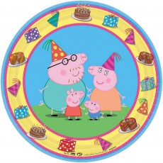 Peppa Pig Lunch Plates