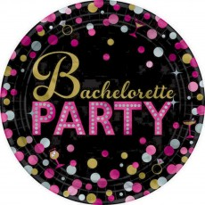 Bachelorette Lunch Plates