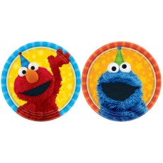 Sesame Street Lunch Plates