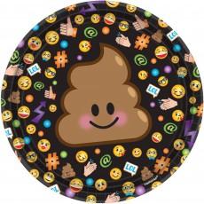 Emoji LOL Lunch Plates