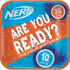 Nerf Lunch Plates