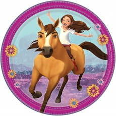 Spirit Riding Free Party Supplies - Lunch Plates