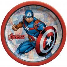 Avengers Party Supplies - Lunch Napkins Powers Unite Captain America