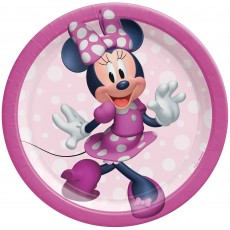 Minnie Mouse Forever Lunch Plates