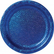 Blue Bright Royal  Lunch Plates