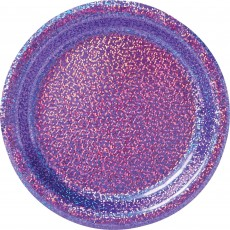 Purple Party Supplies - Lunch Plates