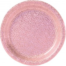 Pink Party Supplies - Lunch Plates Prismatic New Pink