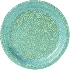 Blue Party Supplies - Lunch Plates Prismatic Robin's Egg Blue