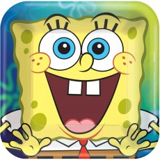 SpongeBob Party Supplies - Lunch Plates