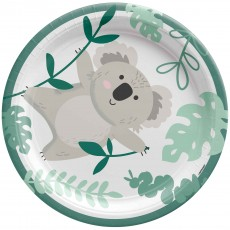Koala Party Supplies - Lunch Plates