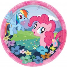 My Little Pony Paper Lunch Plates