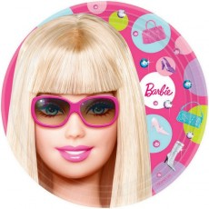 Barbie All Doll'd Up Lunch Plates