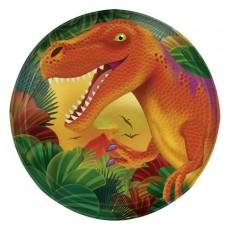 Dinosaur Prehistoric s Lunch Plates