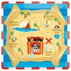 Pirate's Treasure Lunch Plates