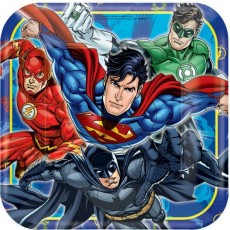 Justice League Paper Dinner Plates