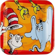 Dr Seuss Dinner Plates