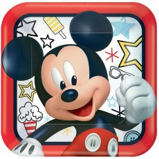 Mickey Mouse On The Go Dinner Plates