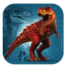 Jurassic World Paper Dinner Plates