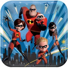 Incredibles 2 Dinner Plates