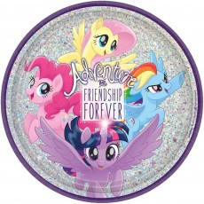 My Little Pony Friendship Adventures Prismatic Dinner Plates