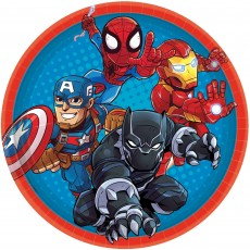 Avengers Marvel Super Hero Adventure Dinner Plates