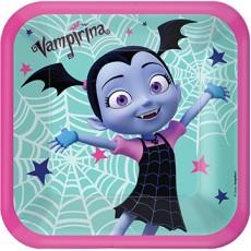 Halloween Disney Vampirina Dinner Plates