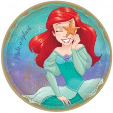 Disney Princess Once Upon A Time Ariel Dinner Plates