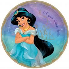 Disney Princess Once Upon A Time Jasmine Dinner Plates 23cm Pack of 8
