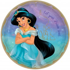 Disney Princess Once Upon A Time Jasmine Dinner Plates