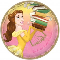 Disney Princess Once Upon A Time Belle Dinner Plates