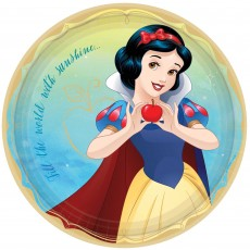 Disney Princess Once Upon A Time Snow White Dinner Plates 23cm Pack of 8