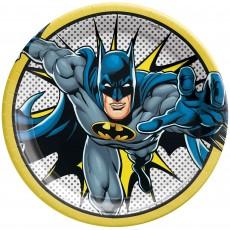 Batman Party Supplies - Dinner Plates Heroes Unite