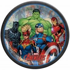 Avengers Marvel Powers Unite Dinner Plates