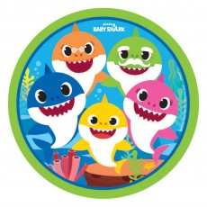 Baby Shark Party Supplies - Dinner Plates Paper