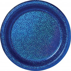 Blue Bright Royal  Dinner Plates