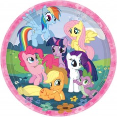 My Little Pony Paper Dinner Plates