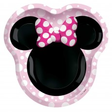 Minnie Mouse Party Supplies - Dinner Plates Forever Shaped