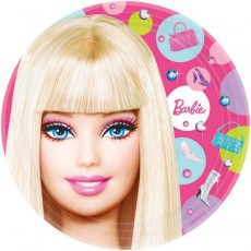 Barbie All Doll'd Up Dinner Plates