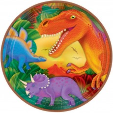 Dinosaur Prehistoric s Dinner Plates